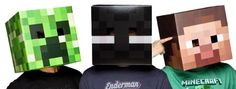 Official Minecraft Exclusive Steve, Creeper & Enderman Head Costume Mask Set Unknown http://www.amazon.com/dp/B00CJF540K/ref=cm_sw_r_pi_dp_LBT1tb1PCVW5XMVB