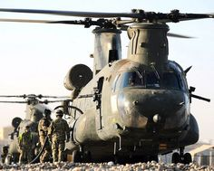 RAF Chinook Helicopter Refuelling at Camp Bastion, Afghanistan | Flickr - Photo Sharing!