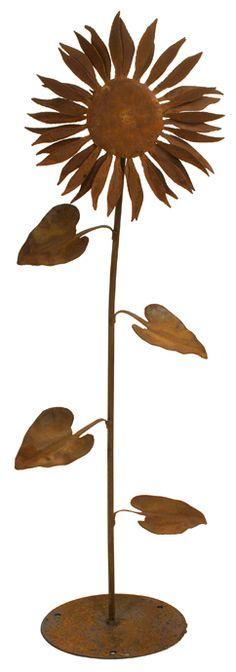 Sunflower sculpture, $69.99