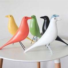 Find More Figurines & Miniatures Information about Nordic Modern desktop decorative resin house bird pure color simple line black/white/red bird adornment fashion home decoration,High Quality decorative resin,China decorative decorative Suppliers, Cheap decorative home decor from Artist Plates on Aliexpress.com