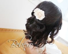 *Bebe Beauty Log*: Half Updo Hairstyle for Proms and Weddings
