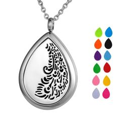 25mm Locket Essential Oil Aroma Perfume Diffuser Pendant Keychain Keyrings 5 Pad To Prevent And Cure Diseases Necklaces & Pendants Jewelry & Watches