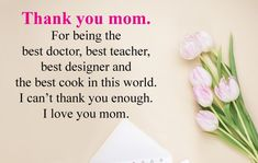 Mother Appreciation Quotes and Images that will show how much we love to our mother. Beautiful Inspirational Thankful Messages for Our Mom Mothers Day Status, Happy Mothers Day Messages, Message For Mother, Happy Mother Day Quotes, Mother Day Wishes, Mother Quotes, Appreciation Images, Thank You Mom Quotes, Mothersday Quotes
