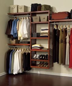 Solid Wood Red Mahogany Closet System For Closets Up To 10 Ft. At The Home  Depot   Tablet