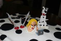 Decoração de bolos de aniversário