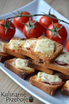 Przekąski na imprezę Archives - KulinarnePrzeboje.pl French Toast, Snacks, Breakfast, Impreza, Finger Food, Breakfast Cafe, Appetizers, Treats, Hors D'oeuvres