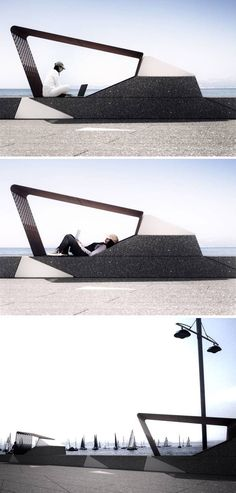 ALL-IN-SQUARE is made up of microarchitecture, modular urban and external floor covering for public spaces and contemporary users. Landscape And Urbanism, Landscape Elements, Urban Landscape, Landscape Design, Urban Furniture, Street Furniture, Furniture Design, Public Space Design, Public Spaces
