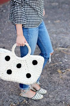 jillgg's good life (for less) | a west michigan style blog: my everyday style: gingham get!
