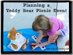 Resources for planning a Teddy Bear Picnic Event