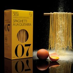 by Lo Siento Studio, Barcelona.  Earthy yellow gold matches the pasta IMPDO.
