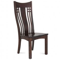 GALLERY FURNITURE EXCLUSIVE DESIGN LARSON ASBURY RUSTIC CHERRY DINING CHAIR Gallery Furniture