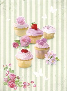 Lisa Alderson - LA -  cupcakes and stripes.jpg