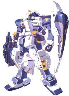 RX-121 Gundam TR-1 (Hazel) Full Armor Form - Titans Test Team (Manga: Advance of Zeta: The Flag of Titans.)