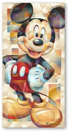 Mickey Mouse Art: The Famous Pose: Limited Edition Giclee on Canvas from Tom Matousek. Mickey Mouse Wallpaper Iphone, Cute Disney Wallpaper, Cute Cartoon Wallpapers, Cartoon Wallpaper Iphone, Disney Mickey Mouse, Mickey Mouse E Amigos, Mickey Mouse And Friends, Mickey Mouse Cartoon, Mickey Mouse Pictures
