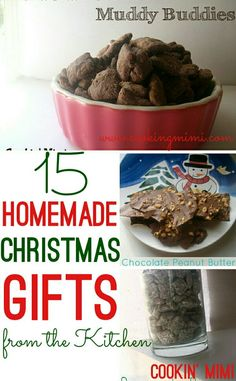 With both savory and sweet ideas 15 Homemade Christmas Gifts from the Kitchen are easy and delicious