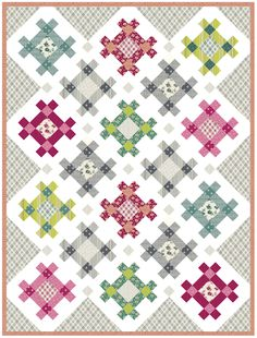 Kitchen Table Quilting: Hashtag Quilt with link to FREE pattern