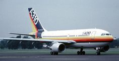 Airbus first flew in Around 70 still fly, incl. Air Transat, Vintage Air, Air Travel, Aviation, Aircraft, House Colors, Airplane, Classic, Planes