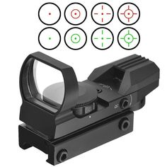 Holographic 4 Reticle Red/Green Dot Tactical Sight Scope with Mount for hunting http://riflescopescenter.com/category/leupold-riflescope-reviews/