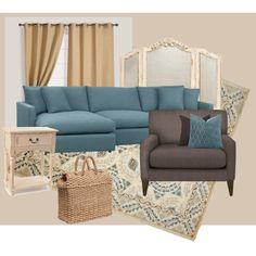 """livingroom"" by jolene-mcelraft on Polyvore"