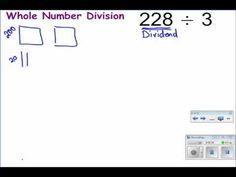 Standard Long Division Algorithm using Base Ten Blocks School 2017, School Tips, School Hacks, Classroom Inspiration, Classroom Ideas, Long Division Strategies, Division Algorithm, Base Ten Blocks, Teaching Kids