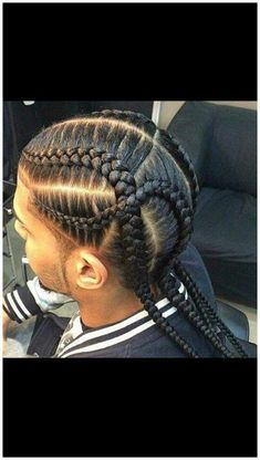 Latest Braided Hairstyles for Men Today we bring you the latest and most sophisticated braided hairstyles for men that every man of style can rock .This amazing braided hairstyles wil… Latest Braided Hairstyles, Easy Hairstyles For Medium Hair, Side Hairstyles, Braided Hairstyles For Black Women, Box Braids Hairstyles, Glasses Hairstyles, Teenage Hairstyles, Hairstyles 2018, Short Hair Styles Easy
