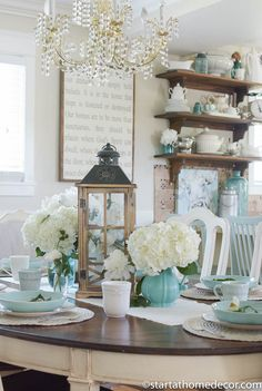 We have 5 tips to help you create the perfect summer tablescape and it is easier then you would think. Head over and check it out!