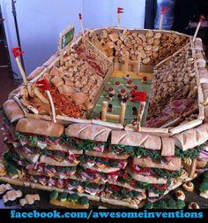 Snack stadium. #football #biggame #superbowl