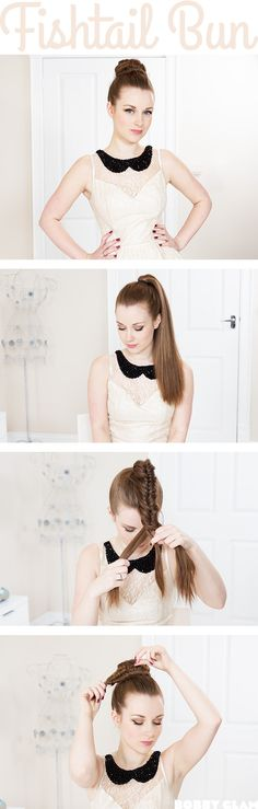 Cute hairstyles to do once you learn how to fishtail braid
