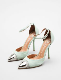mint heels / jeffrey campbell