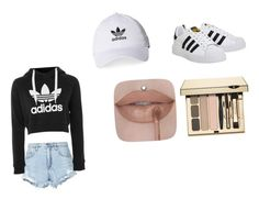 """""""Untitled #3"""" by michellemastberg on Polyvore featuring adidas, Nobody Denim and Clarins"""