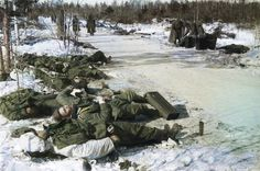 Another pile of German dead on the eastern front, brutality.