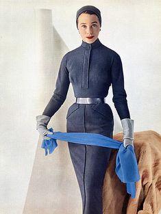 Givenchy 1955 Bettina, Winter Dress