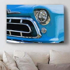 Take yourself back to the old California summers with our hand-worked rendering of the distinctive grille of a '57 Chevrolet 3100, available soon in our Pax Americana collection! Follow our page for updates and and sign-up for our VIP list for special access!⠀#interior #interiors #interiordecor #interiordesign #interiorstyling #home #homedesign #homedecor #canvas #art #artwork #USA #California #Chevrolet #Chevy #1957 #fineinteriors #design_only #cars #classics