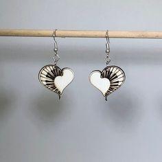 Heart Piano Wooden Dangle Earrings for Music Lovers | Etsy Music Lovers, Music Jewelry, Piano, Dangle Earrings, Friends In Love, Dangles, Hippie Boho, Birch, Hand Painted