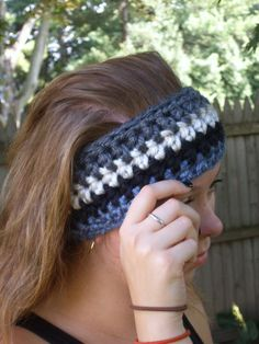 Thick Chunky Ear Warmer/Crochet Ear by CabinByThePines on Etsy