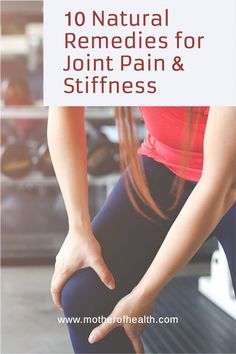 There's no reason to live with joint pain and no one wants to be a slave to stronger medications commonly used to treat pain. Try one of these natural remedies for joint pain and stiffness now to get relief. #jointpain #arthritis #naturalremediesforjointpain #naturalremediesforarthritis Natural Remedies For Arthritis, Holistic Remedies, Natural Health Remedies, Holistic Nutrition, Health And Nutrition, Health And Wellness, Anti Inflammatory Herbs, Muscle Soreness, Bone And Joint
