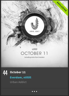 #44 on #minimal releases Stillill - October 11 (Incl. Everdom remix)