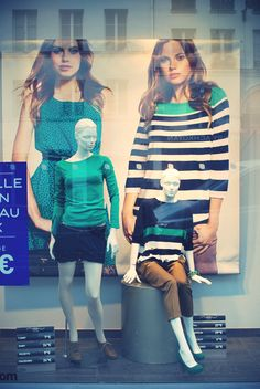 Vitrines parisiennes, New Look,  janvier 2012