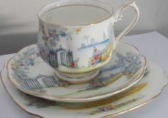 Royal-Albert-Rosedale-Trio-Cup-Saucer