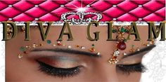 Fun and Colorful eye makeup Prom Graduation Parties Weddings Non-Bridal email; divaglamhairandmakeupboutique@gmail.com