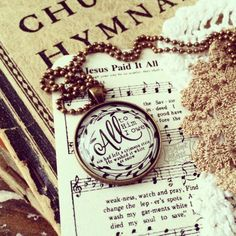 all to Him i owe hymn necklace by The Adopt Shoppe on Etsy, $25.00 #hymnnecklace #hymn #TheAdoptShoppe