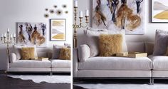 Stylish Home Decor & Chic Furniture At Affordable Prices | Z Gallerie - don't like the chandelier
