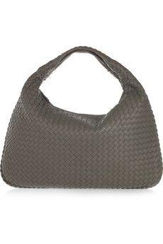 Bottega Veneta Large Veneta intrecciato leather shoulder bag