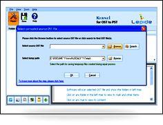Herramienta de Conversión OST a PST para Extraer y Guardar información de correos electrónicos de archivos OST a formato PST.