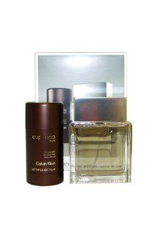 Save $23.06 on Calvin Klein Euphoria Men 3.4 Ounce Eau De Toilette Spray, 2.6 Ounce Alcohol Free Deodorant Stick; only $56.94