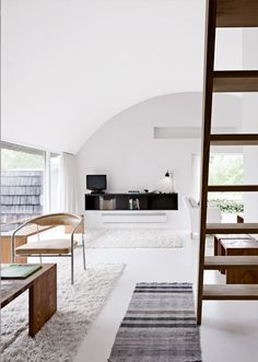 white | wood | interior