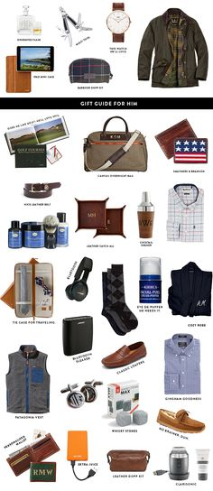 I wanted to post these gift guides for HIM on my blog because I posted them on instagram…and I know some of you prefer shopping via the blog rather than via LiketoKnow.it. But honestly, most of these gifts are just recycled ideas from previous year (but with updated links of course – ensuring stock and [...]
