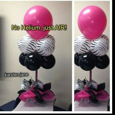 No Helium.  Just Air
