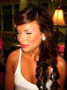 Pin up style makeup  vintage  Makeup & hair by Kayte Parrott