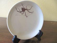 Black Widow Spider Dish. $20.00, via Etsy.